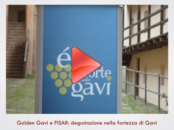 Golden Gavi e FISAR: degustazione nella fortezza di Gavi