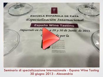 seminario sui vini spagnoli
