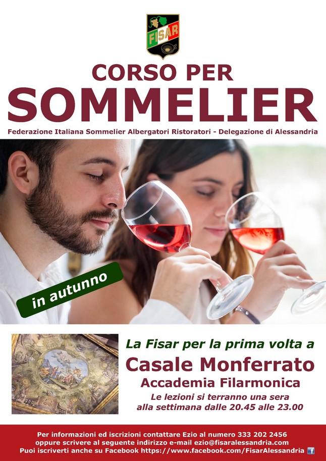 Corso per Sommelier a Casale Monferrato (AL)